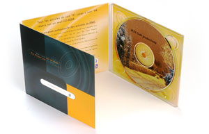 Digipack voor CD of DVD producties